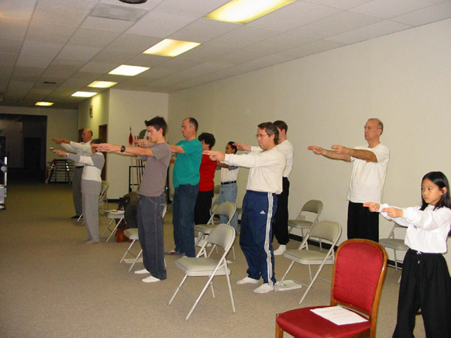 Sword Finger Qigong (Qi Gong or Chi Kung) workshop at CTMAA