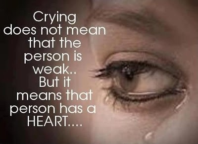 Crying Quote Picture Quote #1