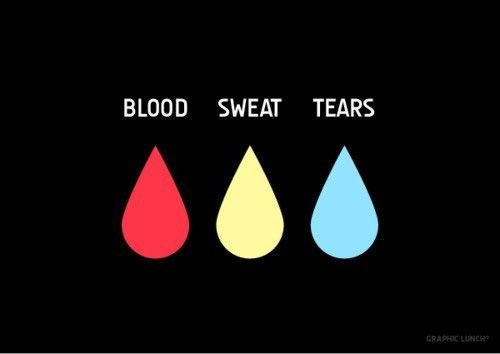 Blood Sweat And Tears Quote 1 Picture Quote #1