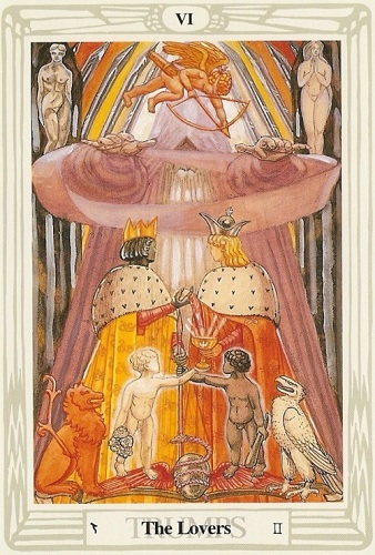 Image result for Thoth lovers card