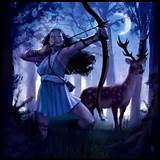 Image result for Artemis Goddess of the Moon