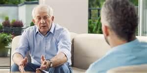 Image result for two old men talking
