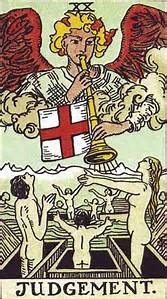 Image result for Last judgement tarot card
