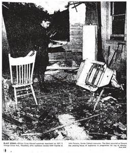 Image result for Jack Parsons exploded laboritory