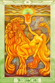 Image result for Lust Thoth Tarot card