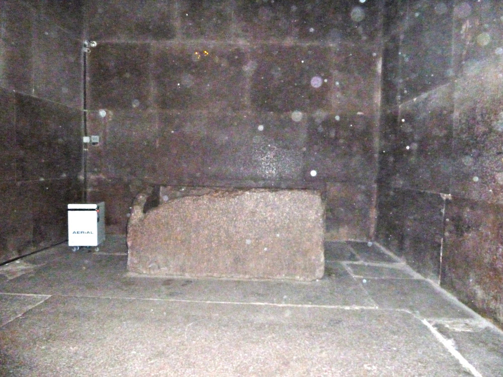 Image result for Missing rock from King Khufu Chamber