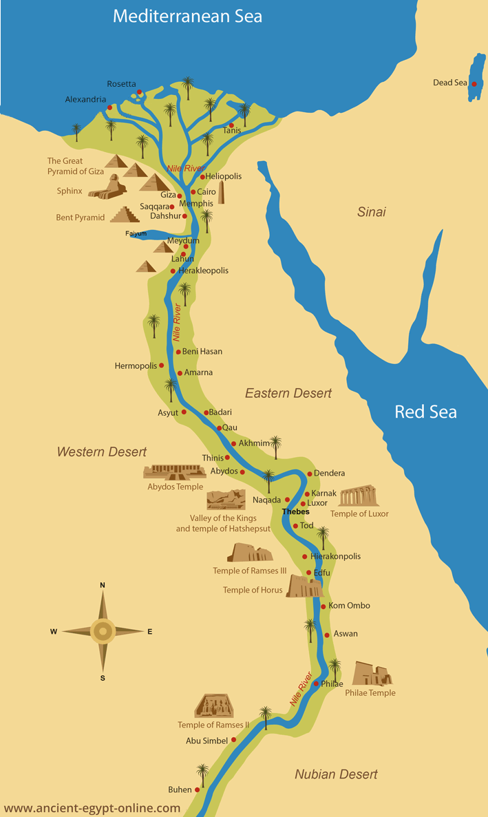 Image result for egypt map