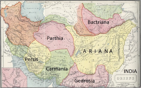 Image result for Ancient Aria  map