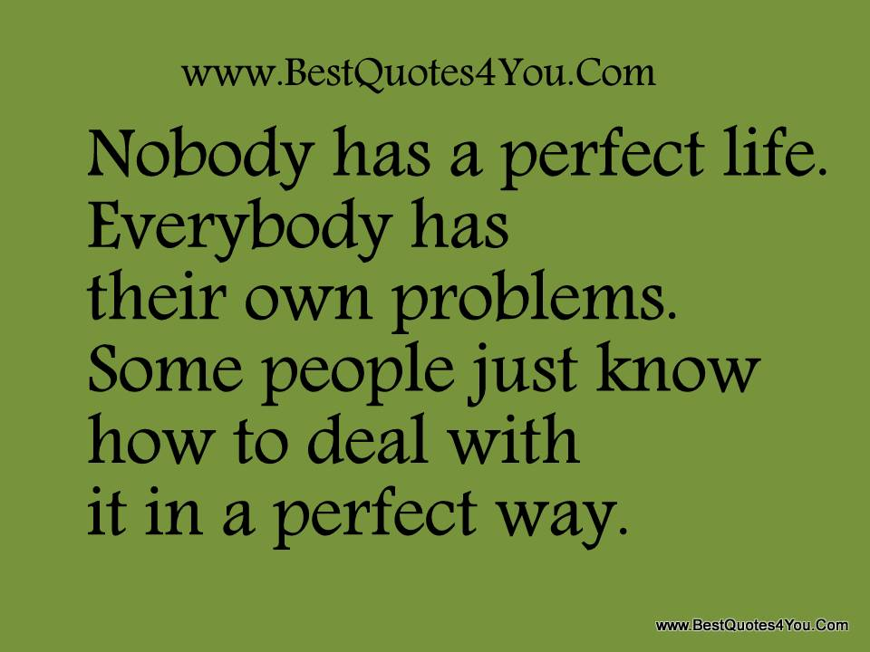 nobody-has-a-perfect-life-everybody-has-their-own-problems-problem-quote.jpg