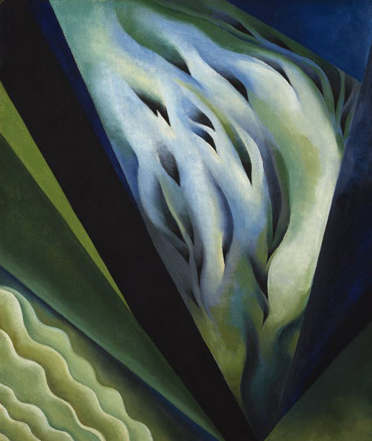 This 1919 Georgia O'Keeffe painting of what looks like an enlarged flower was extremely creative for its time, paving the way for an artistic movement called American modernism.