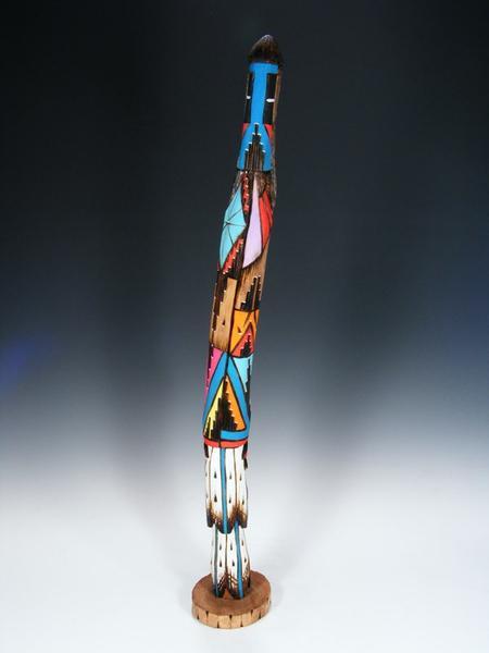 Navajo Longhair Shalako Carved Kachina Doll