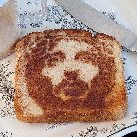 Image result for Jesus taost stencil