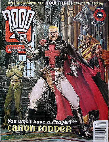 Image result for 2000- ad comics - canon fodder