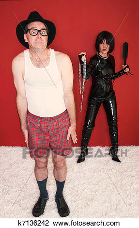 man-scared-of-dominatrix-stock-photo__k7