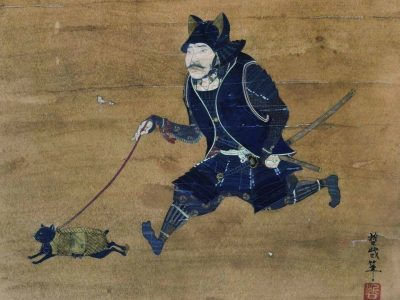 What's the story behind the samurai walking a cat, anyway? · Global Voices