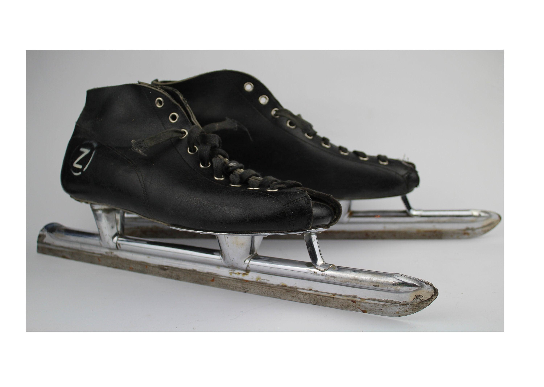 Vintage speed skating skates with USSR quality sign soviet   Etsy
