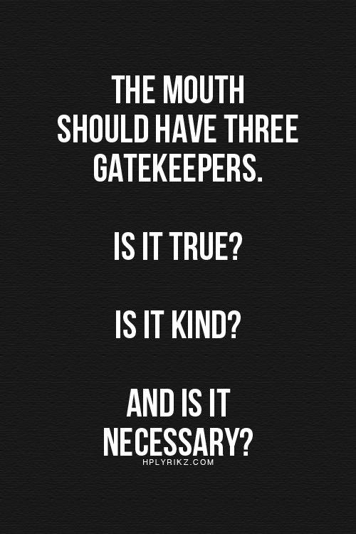3 Gatekeepers