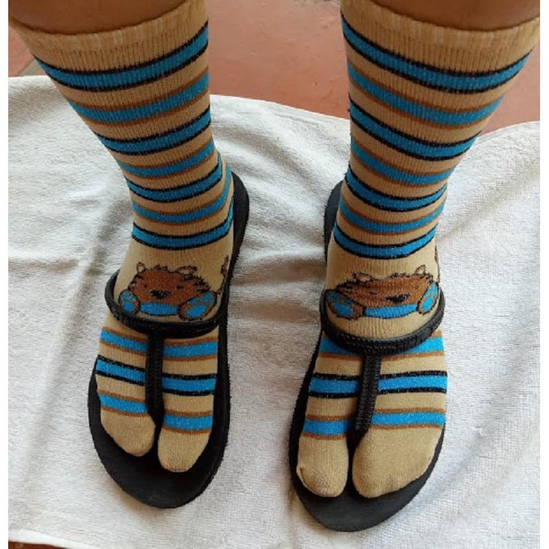 Image result for socks for flip flops