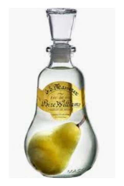 Massenez Poire-Williams Pear Brandy Price & Reviews   Drizly
