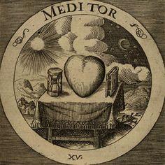 Image result for The Rosicrucian Emblems of Daniel Kramer.    XV