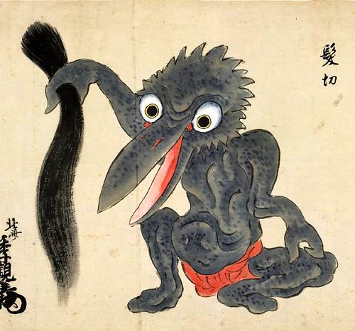 Image result for Japanese  spider  kami