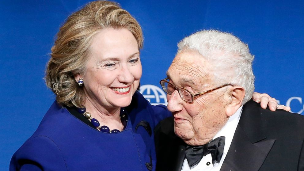 Hillary and Henry: Clinton's Relationship With Kissinger - ABC News