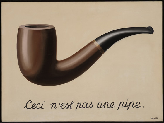 The Treachery of Images (This is Not a Pipe) (La trahison des images [Ceci  n'est pas une pipe])   LACMA Collections
