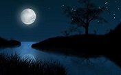 Wonderful Moon Night #Picture - HD Wallpapers