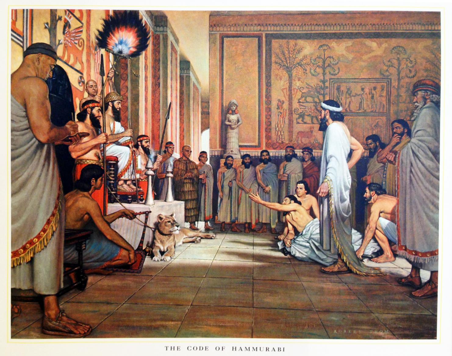 HOM - The Code of Hammurabi - Trowbridge Gallery