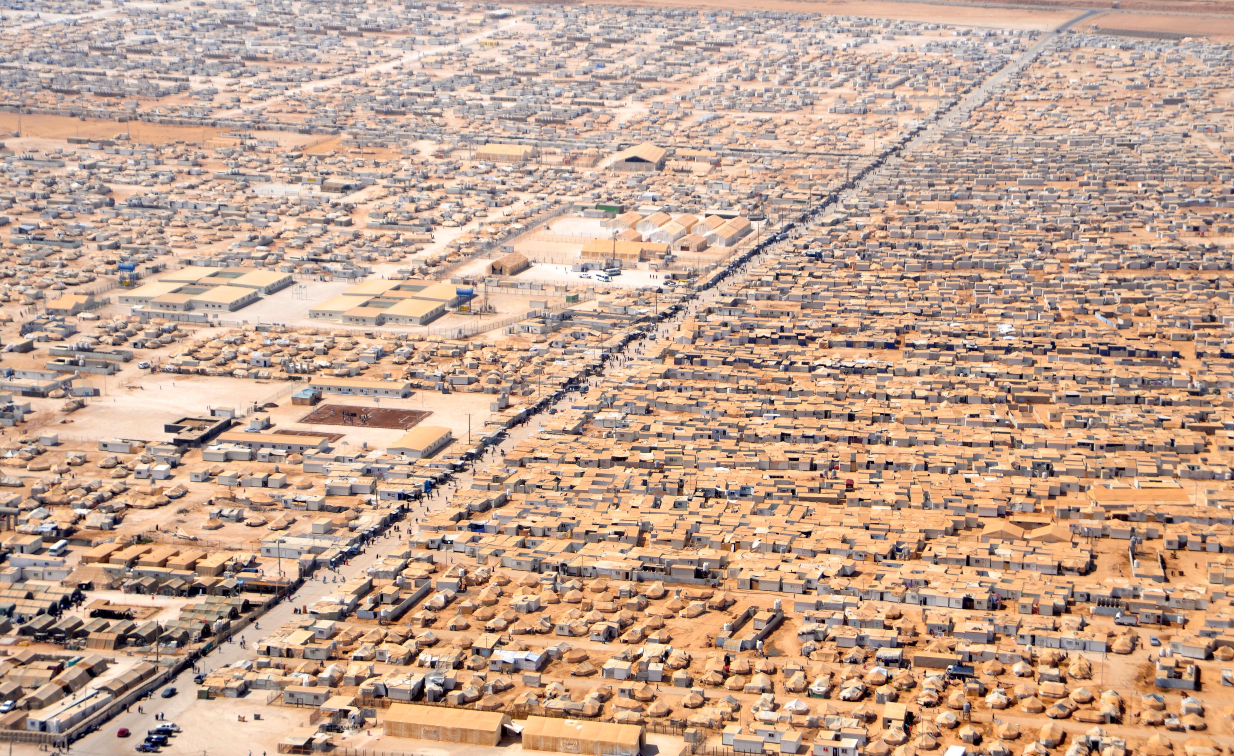 An_Aerial_View_of_the_Za'atri_Refugee_Ca