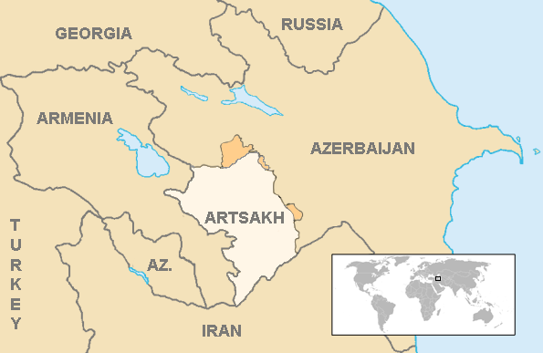 Political status of Nagorno-Karabakh - Wikipedia