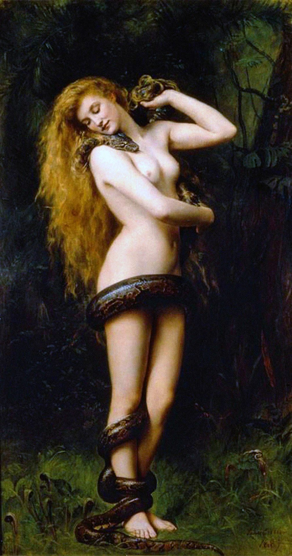 1007px-Lilith_(John_Collier_painting).jp