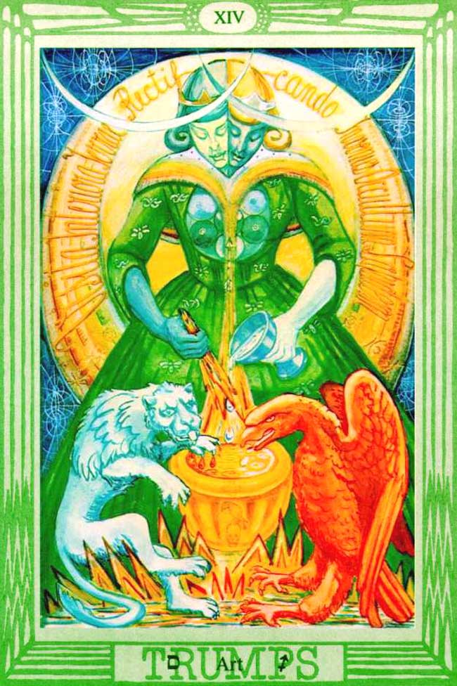 Image result for thoth tarot art