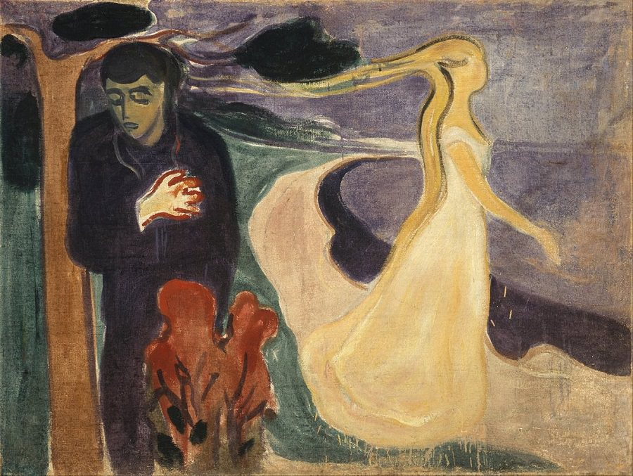 Separation, 1896 by Edvard Munch