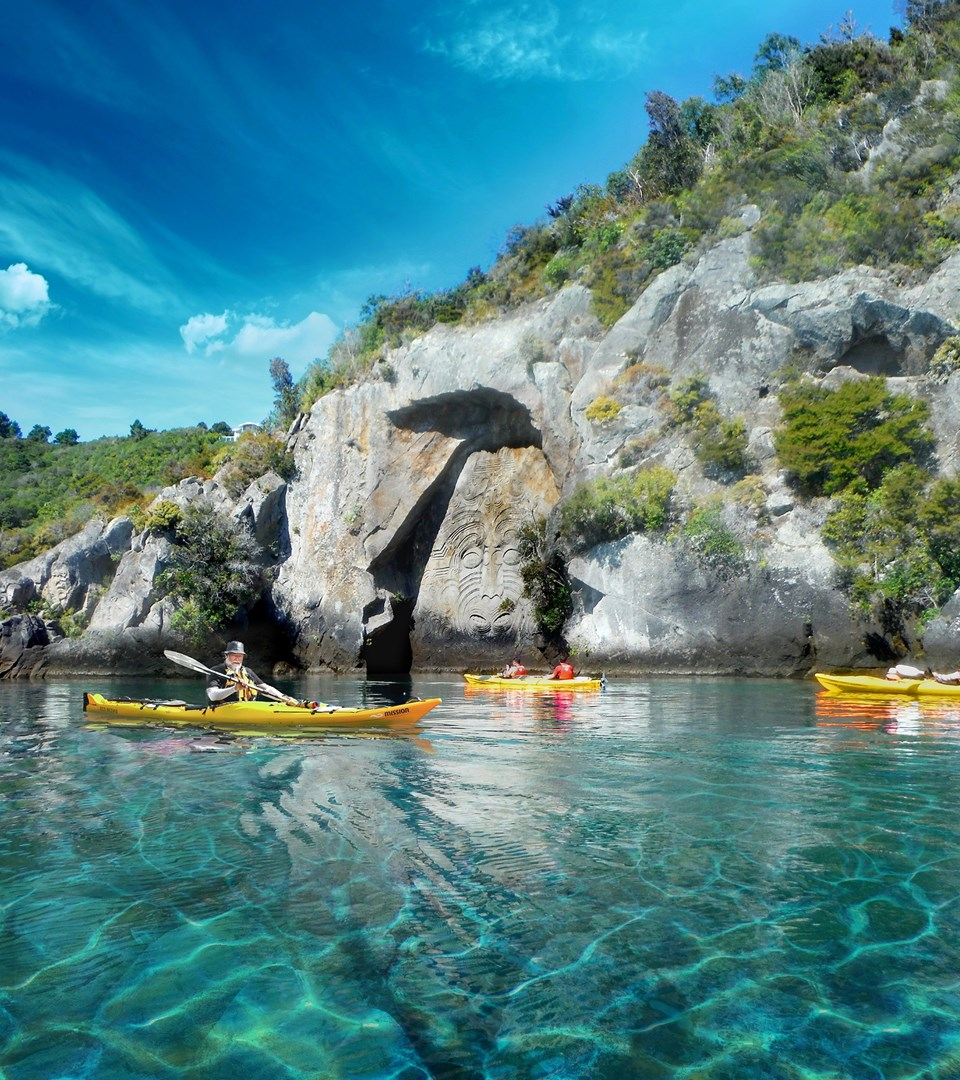 taupo-kayaking-adventures-mine-bay-maori