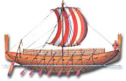 Phoenician trade ship