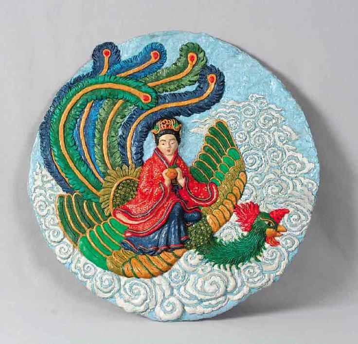 Xi Wang Mu riding phoenix.jpg