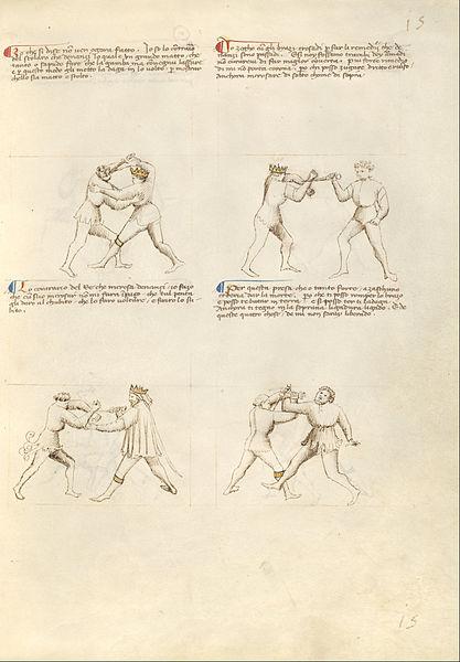 Getty_Ms._Ludwig_XV_13_13r_-_Fiore_dei_Liberi_-_Combat_with_Dagger_-_Google_Art_Project.jpg